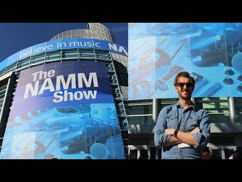 What happens at NAMM... goes in a VLOG
