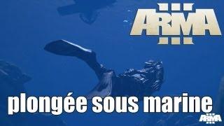 Alpha arma III Plongée sous marine