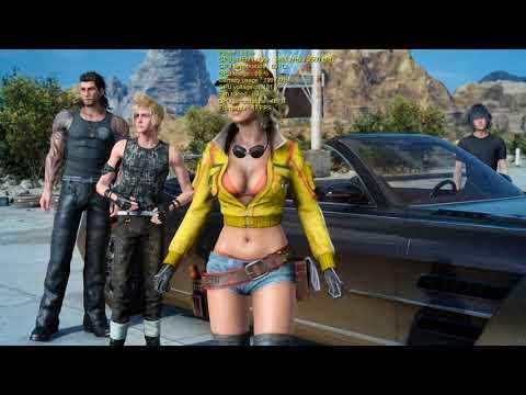 Final Fantasy XV Windows Edition with EVGA GeForce GTX 960 2GB SSC