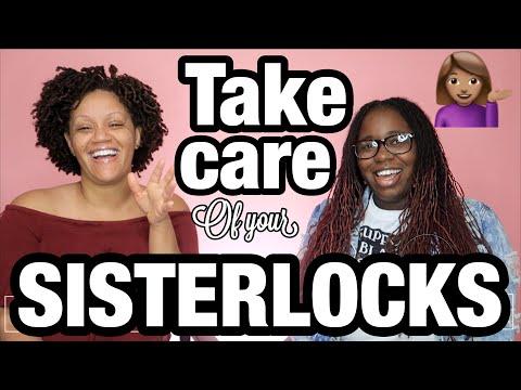 Sisterlocks! My talk with an EXPERT! Waist Length, Healthy Locs, Goals!