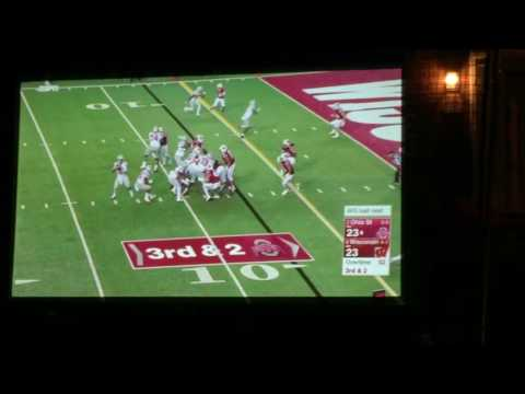 Ohio State vs Wisconsin Overtime First Score