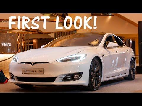 Tesla Model S Facelift First Look