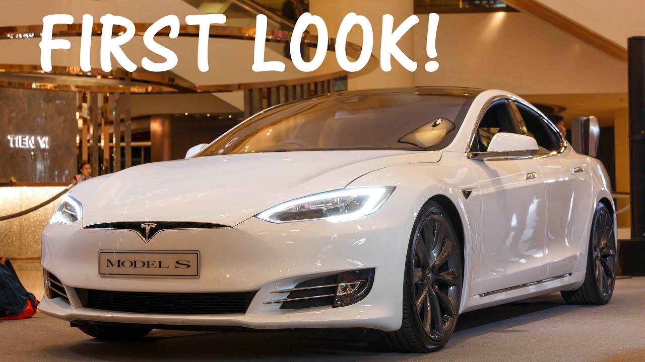Original Tesla Model S Facelift First Look  YouTube