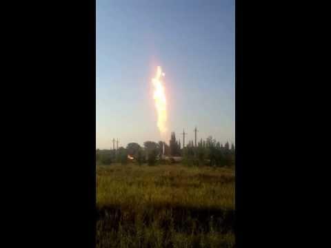 Взрыв газовой скважины на Кубани!!!
