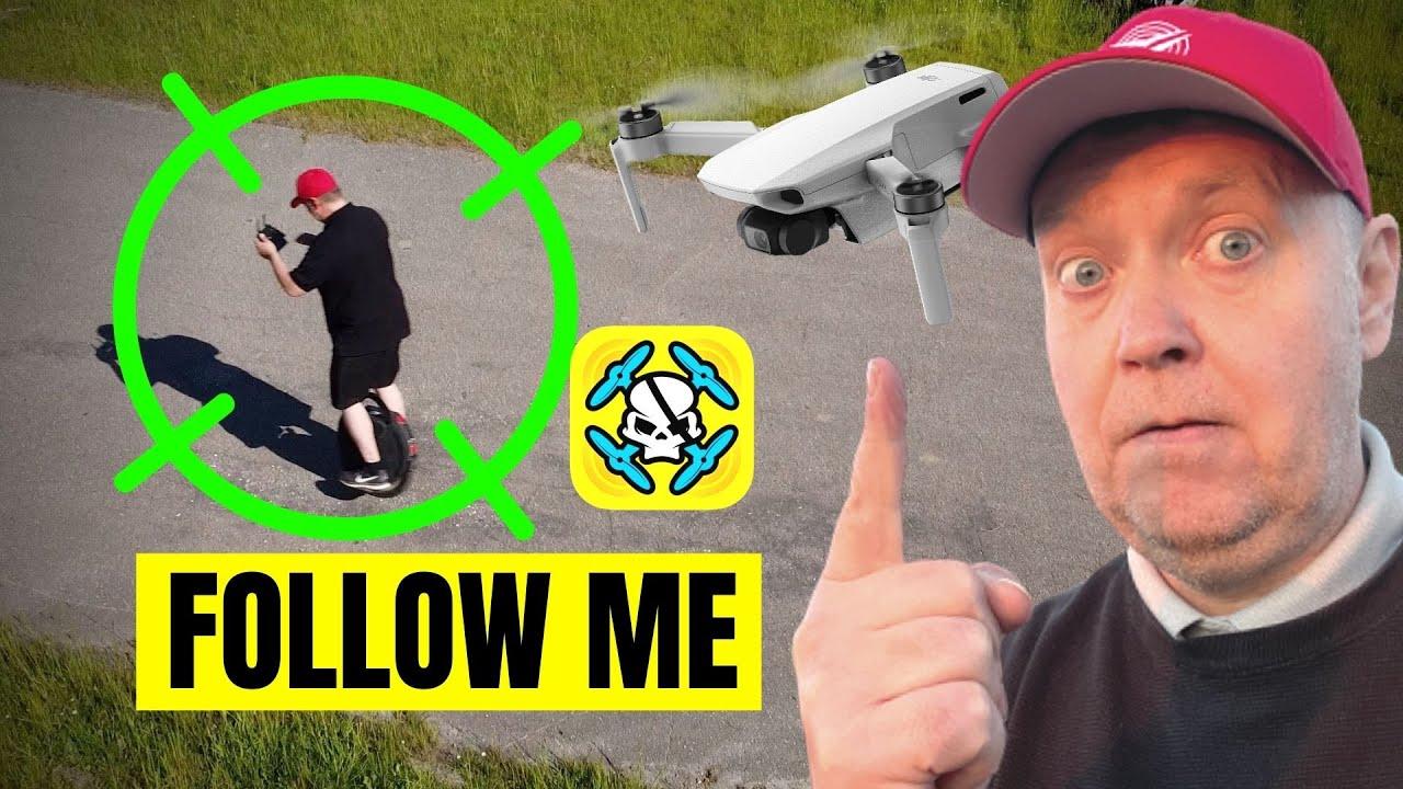 Mavic Mini Active Track & Follow Me