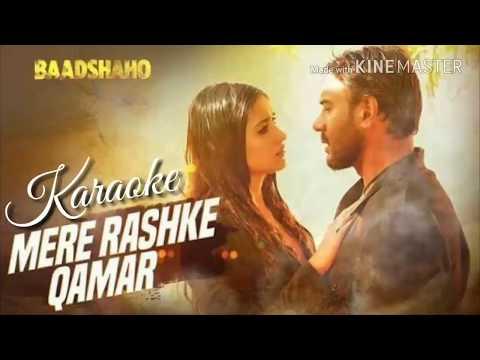 Mere Rashke Qamar Karaoke With Lyrics (Male / Female)   Rahat Fateh Ali Khan   Baadshaho