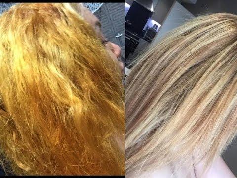 How To Bleach Tone Dark Hair At Home Using Well T18
