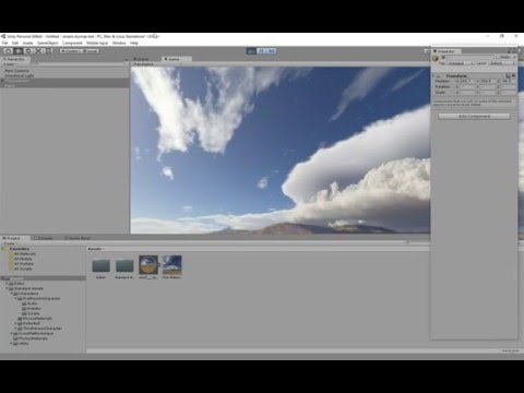 unity how to change skybox