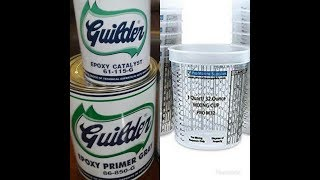 How to Mix Epoxy Primer Without Paint Mixing Cups