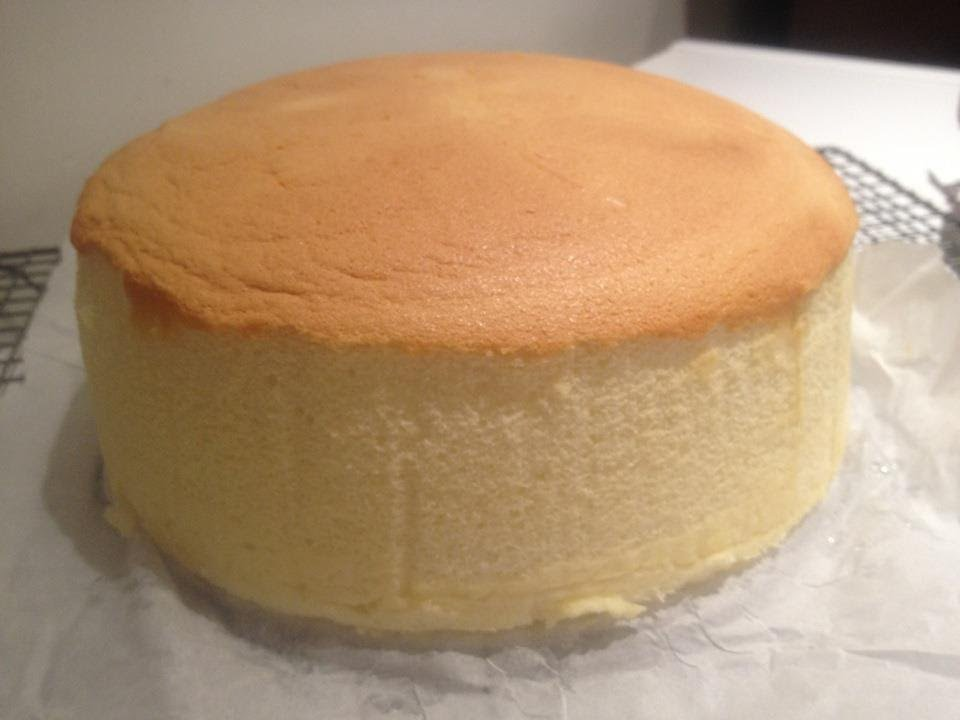 Japanese Chiffon Cake Recipe