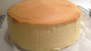 How to make Japanese Cotton Cheese Cake Recipe - 日式芝士蛋糕