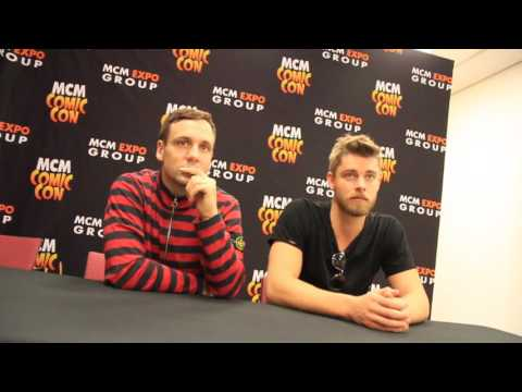 Nick Blood & Luke Mitchell   MCM Hannover 2016