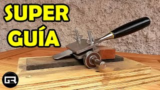 GUIA PARA AFILAR FORMONES CASERA (Sharpening Jig for Chisels & Plane Blades)