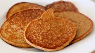 High Protein Pumpkin Pancakes - Clean & Delicious®