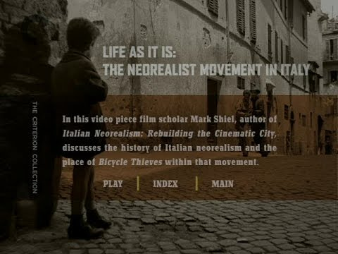 Life As It Is: The Neorealist Movement in Italy (2007)