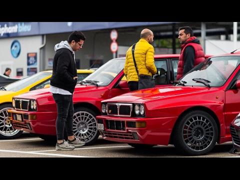 Essai sur les routes Suisse Lancia Delta HF Integrale