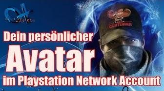 Dein eigener Avatar/ Profilbild im PSN Profil - deutsch erklärt