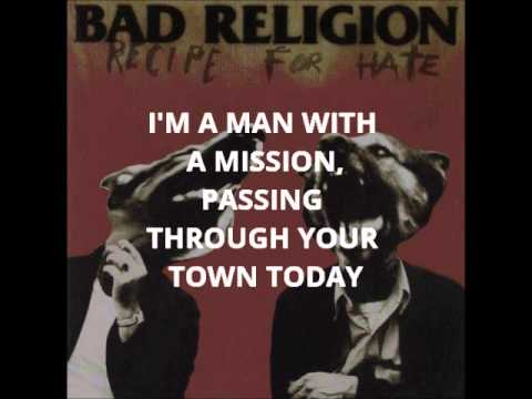 Bad Religion - Recipe for Hate - YouTube