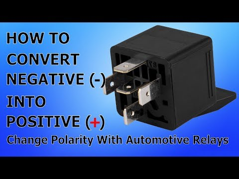 How To Change Polarity With a Relay - Convert Negative Into Positive -  Automotive Wiring - YouTubeYouTube