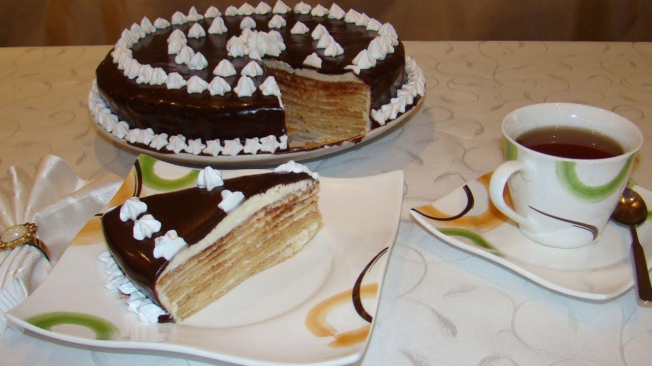 Как постряпать медовый торт шоколадом