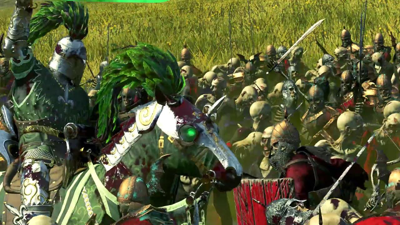 Reskin Impressive Green Knight Mod Total War Warhammer
