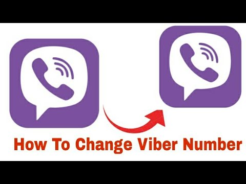 How To Change Viber Number Without Lost Any Data