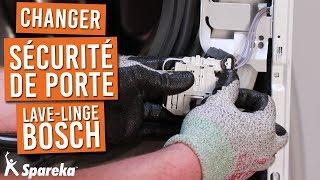 Comment changer la fermeture de porte de votre machine a laver BOSCH