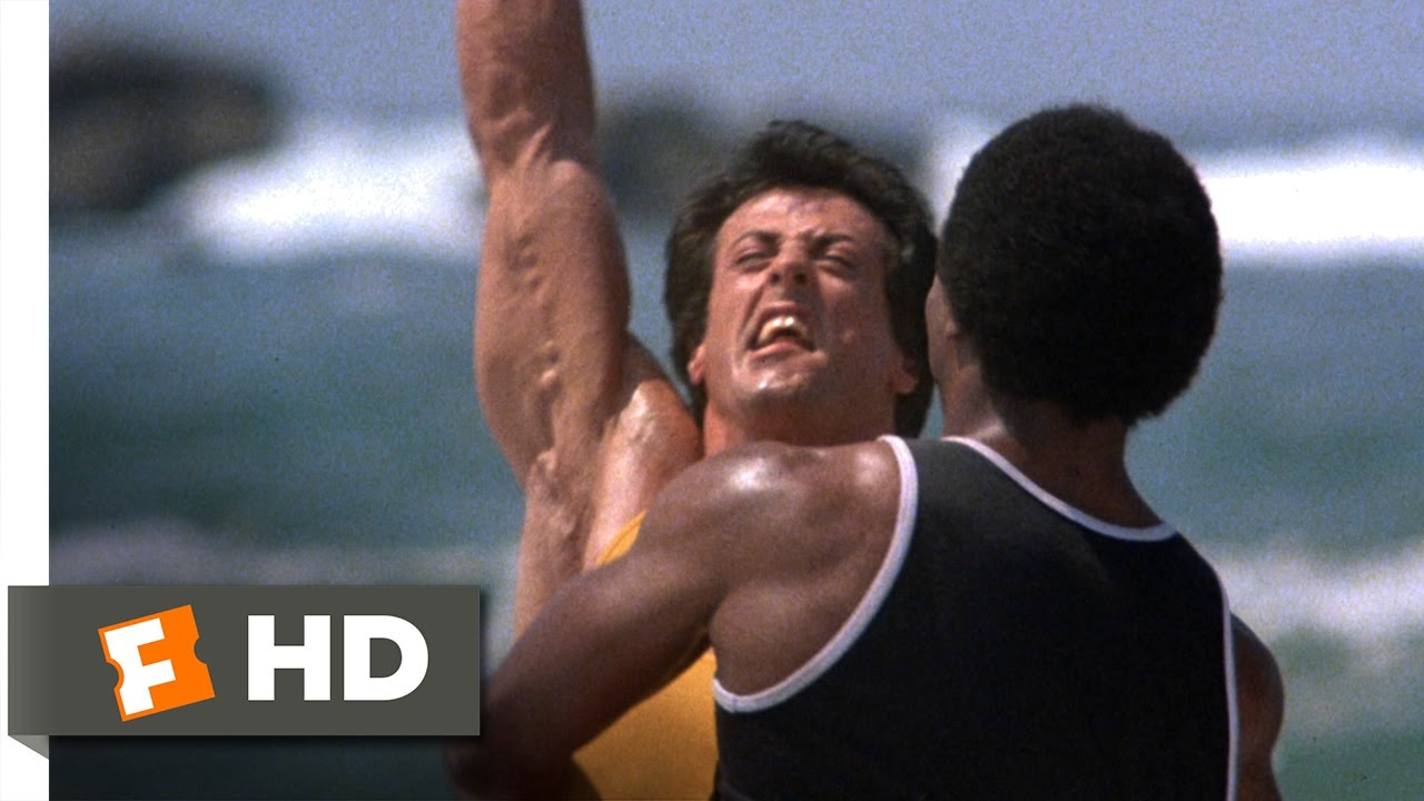 Rocky Iii 11 13 Movie Clip Getting Stronger 1982 Hd Youtube