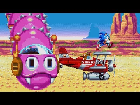 Sonic Mania: All Boss Fights (1080p 60fps)