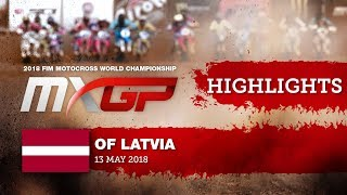 News Highlights - MXGP of Latvia 2018 #Motocross