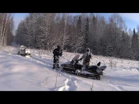 Охота от первого лица. s5. На снегоходах в -30.