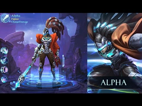 Alpha, the Ultimate Weapon!