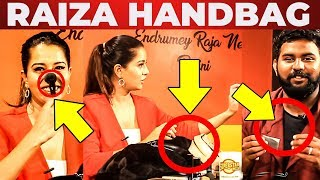 Raiza Wilson Handbag Secrets Revealed | Vj Ashiq | What's Inside the HANDBAG