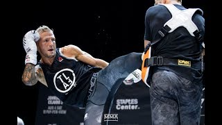 UFC 227: T.J. Dillashaw Open Workout (Full Workout) - MMA Fighting