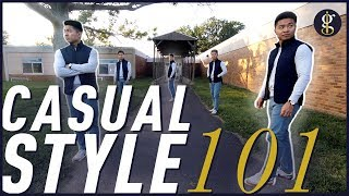 BACK TO SCHOOL OUTFIT IDEAS For Men 2018 | Early-Fall Lookbook | Casual Style 101