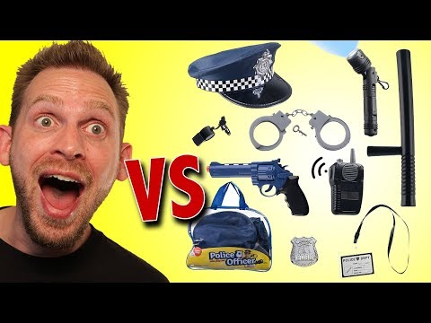 Police Officer Role Play Set Unboxing