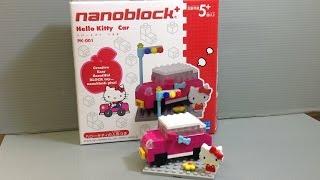 Nano Block + Hello Kitty Car Pk-001