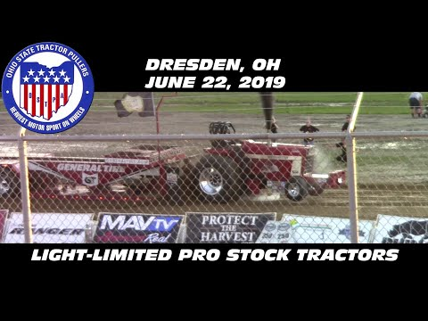 6/22/19 OSTPA Dresden, OH Light-Limited Pro Stock Tractors