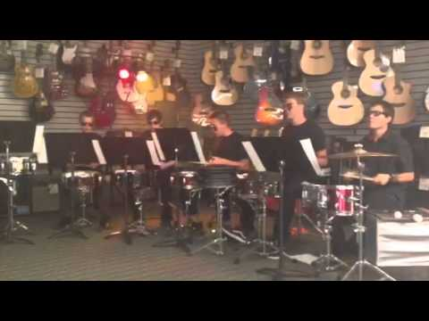 Music & Arts Percussion Group Au 2013
