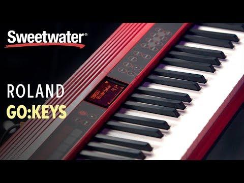 roland-go:keys-61-key-music-creation-keyboard-demo