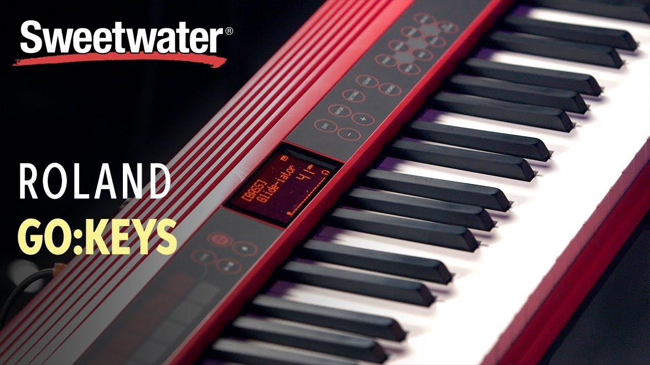 Roland GO:KEYS 61-key Music Creation Keyboard | Sweetwater