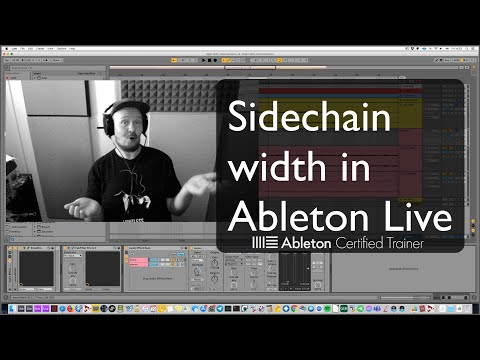 Sidechain width in Ableton Live