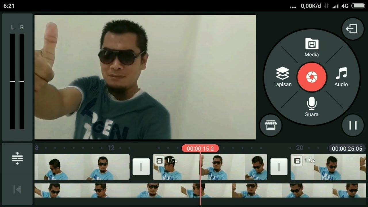 Cara Merubah Warna Baju Di Video Menggunakan Kine Master Youtube
