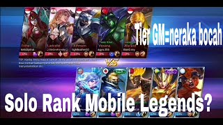 Solo Rank di Mobile Legends!? . #MobileLegends #FreeFire #Fortnite #Battleground #Moba