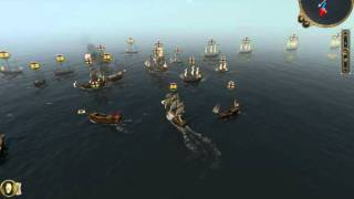 Batalla Naval - España Vs Inglaterra ( Empire Total War )