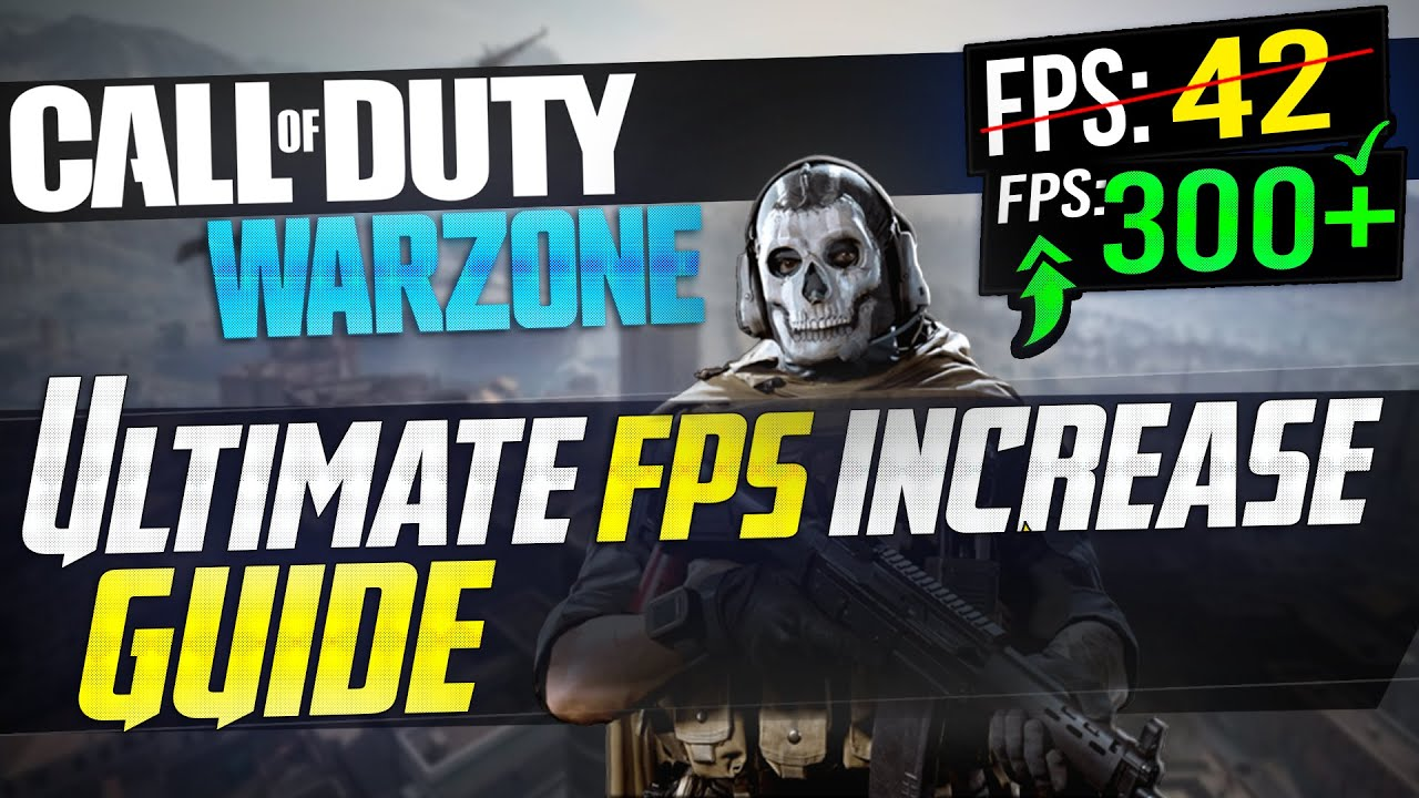 Cod Warzone Dramatically Increase Performance Fps With Any Setup Best Settings Youtube