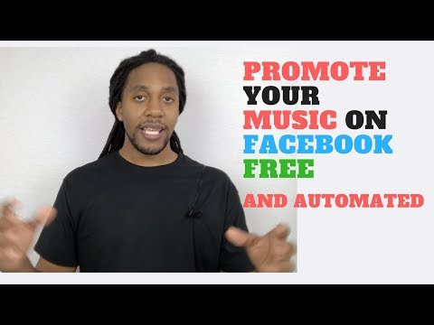How To Promote your Music On Facebook Free Tutorial (automated)
