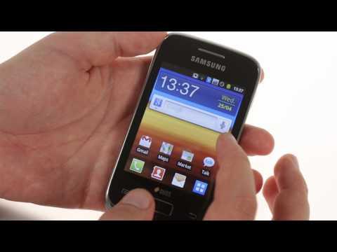 Samsung Galaxy Y Duos S6102 unboxing