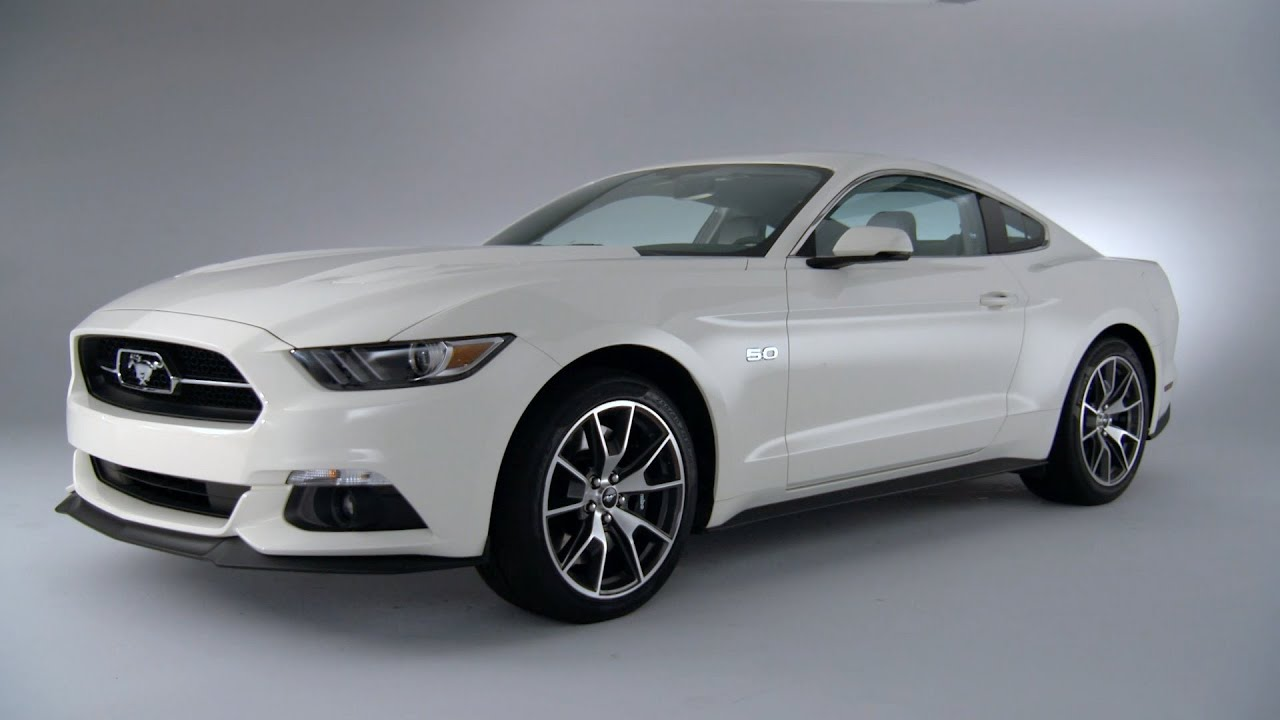 2015 Mustang GT 50th Anniversary Edition  DESIGN  YouTube