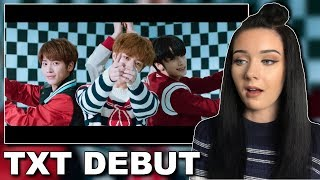 TXT Debut 'CROWN' Reaction // itsgeorginaokay